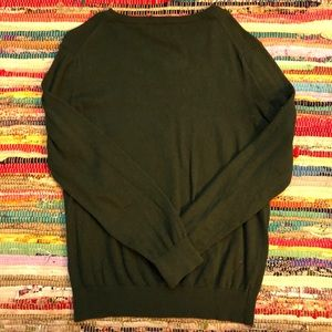 Dark Green IZOD V-Neck Sweater